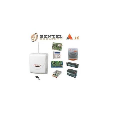 Bentel - kit Centrale Absoluta 16
