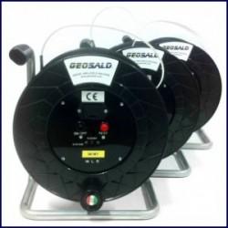 Geosald - Freatimetro - Misuratore di livello centimetrato cavo piatto, 50 metri