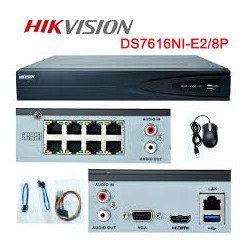 HIKVISION - IP CAMERA HIKVISION BULLET 3MP SD ALARM SOUND IR30M 2.7-12MM