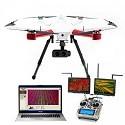 Droni con camera multi-spettrale a bordo