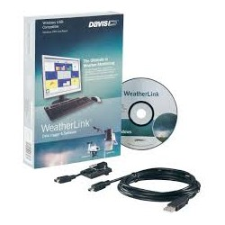 DW-6510USB  Datalogger e software WeatherLink per Windows, versione USB