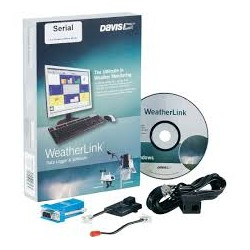 DW-6510SER  Datalogger e software WeatherLink per Windows, versione SERIALE