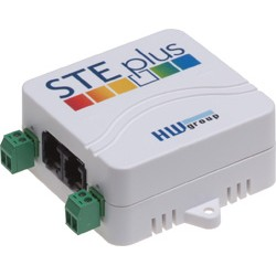 HWg-STE plus: Termometro Ethernet con ingressi digitali